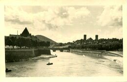AK Besancon Ca. 1930 (?) Stadtansicht Madelainekirche - Individuelle Fotografenkarte - Besancon