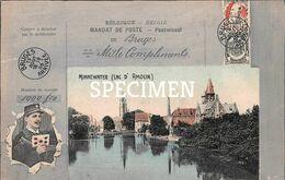 Minnewater -  Lac D'Amour - Postbode -  Bruges - Brugge - Brugge
