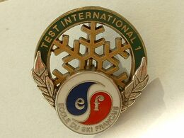 BROCHE - TEST INTERNATIONAL 1 - ECOLE DU SKI FRANCAIS - Sport Invernali