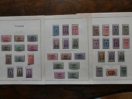 FRANCE Colonies  : TCHAD Collection Très Avancée Cote 400 € - Zonder Classificatie