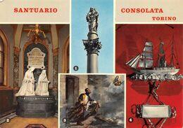 """01893 """"TORINO  - SANTUARIO DELLA CONSOLATA - EX VOTO"""" CART  NON SPED - Churches"""