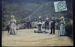 CPA - Chateauneuf-les-Bains (63) - Fontaine - Otros Municipios