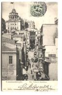 CONSTANTINOPLE Rue Yuksik Kaldırım Photogr. Abdullah Affa. Francais 1904 - Turkey