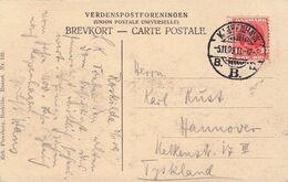 DENMARK - PICTURE POSTCARD 1909 KOPENHAGEN - HANNOVER /AS153 - Briefe U. Dokumente
