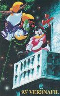SAN MARINO - Disney, 93a Veronafil, Westel/Intelcom Prepaid Card, Tirage 5000, Exp.date 31/07/00, Mint - Disney