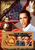 Guinea 2011, President USA, Obama, M. L. King, BF - Martin Luther King