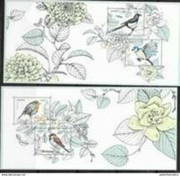 FRANCE, 2018, MNH, BIRDS, BIRDS OF OUR GARDENS, 2 SHEETLETS - Andere