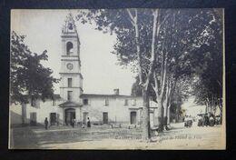 CPA - GANGES (34) - Place De L'Hôtel De Ville - Ganges