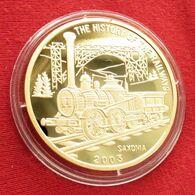 Korea North 20 Won 2003 Locomotive Saxonia - Corea Del Nord