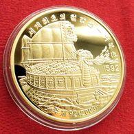 Korea North 20 Won 2003 Boat 1592 - Corea Del Nord
