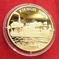 Korea North 20 Won 2003 Steamship Maria - Corea Del Nord
