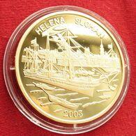 Korea North 20 Won 2003 Sail Ship Sloman - Corea Del Nord