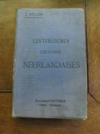 Oud Boek 1914  J. MELON   LENTEBLOEMEN   Lectures Néerlandaises  éta .  CASTERMAN  Tournai - Books, Magazines, Comics