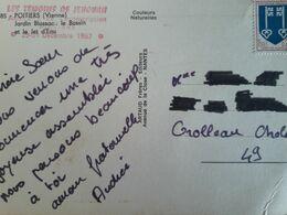 Carte Postale Assemblée De Circonscription Des Témoins De Jéhovah, Poitiers 1967 - Godsdiensten & Geloof