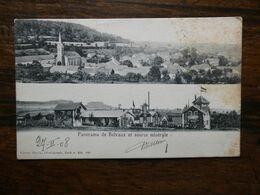 LUXEMBOURG   Carte Postale : Panorama De Belvaux Et Source Minérale - Cartes Postales