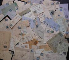 Lot De Lettres Entre 1800 Et 1900 (françaises), Préphilatélie, Classiques, Semi Modernes: 150 Lettres + Ajouts, Voir Des - Collections