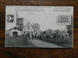 LUXEMBOURG   Carte Postale :Etablissement De La Source Minérale De Bel-val - Cartes Postales