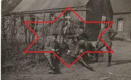 Photo Juin 1917 CAGNONCLES (près Cambrai) - Soldats Allemands (A20, Ww1, Wk1) - Frankreich