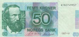 (B0098) NORWAY, 1987. 50 Kroner. P-42b. VF - Noorwegen
