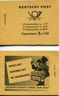 R.D.A. - 1957/1959 - Yt C317 - Carnet 3 Feuillets - ** - [6] Democratic Republic