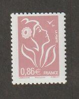 Variétés - 2006 - Type Lamouche -   N°  3969b - 0.86€ Lilas Brun Clair - Sans Bde Phosphore  -  Neuf Sans Charnière - - Curiosities: 1970-79 Mint/hinged