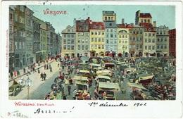Warszawa/Varsovie. Stare Miasto. - Polonia