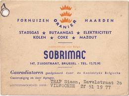 Fornuizen Oranier Haarden - Sobrimac - Zuidstraat Brussel - Trap Vilvoorde - Bruxelles-ville