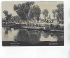 Photo  A. BRIQUET - MEXICO - Canal De La Viga - El Embarcadero  - 1897 - Old (before 1900)