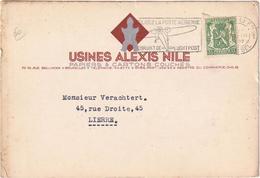 Usines Alexis Nile - Papiers & Cartones Couchés - Bruxelles - Bruxelles-ville