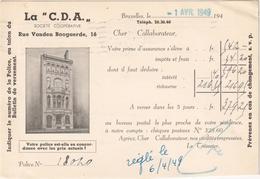 La C. D. A. - Bruxelles - Bruxelles-ville