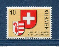 Suisse - YT N° 1071 - Neuf Sans Charnière - 1978 - Ongebruikt