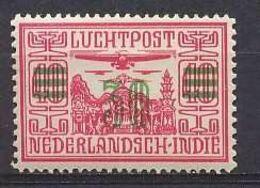 Nederlands Indie 1932 NVPH Nr Luchtpost 12 Ongebruikt/MH Airmail - Niederländisch-Indien