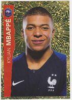 Autocollant Panini Intermarché Football - Brillante N° 26, Kylian Mbappé - Edition Française