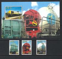 TRV14/16, TRV-BL2 (TRV17) - MNH ** - Trains Railways Chemin De Fer. - Belgien