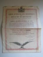 OBLIGATION EXTERIEURE AMORTISSABLE 7 1/2 % OR 1931GARANTIE PAR L'ETAT ROUMAIN - Autres