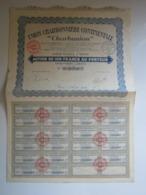 """ACTION DE 100 FRANCS AU PORTEUR """"UNION CHARBONNIERE CONTINENTALE CHARBUNION"""" - Autres"""