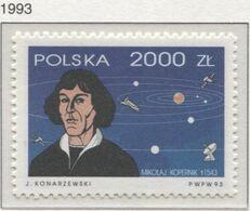 Poland 1993 Mi 3351 Nicolaus Copernicus, Renaissance-era Mathematician And Astronomer MNH ** - Astrologia