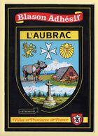 Vaches: L'Aubrac – Blason Adhésif (voir Scan Recto/verso) - Cows