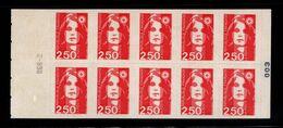 France Carnet 2720 C1 Marianne De Briat - Usados Corriente
