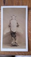 Photo CDV A.KEN PHOTO Identification Au Dos 1850 - Antiche (ante 1900)