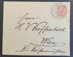 Österreich 1903, Umschlag 10 H. WAIDHOFEN A.D. YBBS  Gelaufen Wien - Unclassified