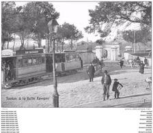 Réédition Cpsm Cpm 83 TOULON. Série Clichés D'Autrefois. Porte Notre-Dame Rond Point Des Lices - Toulon