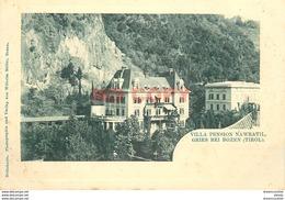 Rare WW TYROL TIROL. Gries Bei Bozen Bolzano. Villa Pension Nawratil Vers 1900 - Sonstige