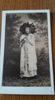 Photo CDV PHOTO A.KEN IDENTIFICATION AU DOS 1850 - Antiche (ante 1900)
