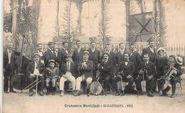 CPA Orchestre Municipal - St-RAPHAEL 1913 - Saint-Raphaël