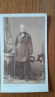 Photo CDV PHOTO DISDERI IDENTIFICATION AU DOS 1850 - Antiche (ante 1900)