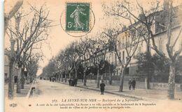 CPA LA SEYNE-SUR-MER - Boulevard Du 4 Septembre - La Seyne-sur-Mer