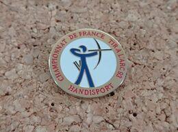 PINS TIR A L'ARC CHAMPIONNAT DE FRANCE HANDISPORT 93 - Tiro Con L'Arco