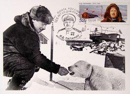 2572 125th Anniversary Of The Polar Explorer Ivan Papanin 2019 Maximum Cards - Cartes Maximum