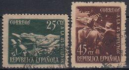 ESPAÑA 1938 Nº 787/88 USADO - 1931-Heute: 2. Rep. - ... Juan Carlos I